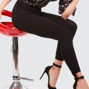 Leggings Nero Push-Up + Maglia gratuita